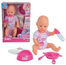 Lalka New Born Baby Bobas z akcesoriami 38 cm