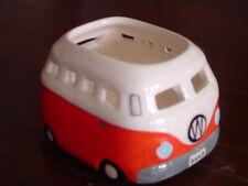 VW Volkswagen Kombi Tea Light Candle Holder Ceramic Red For Tealights