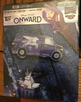 New Disney Pixar Onward 4K Ultra HD/Blu-ray/Digital SteelBook™ Bestbuy Exclusive