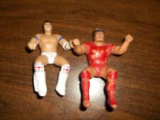 British Bulldog Nikolai Volkoff LJN Jakks bendie WWE Thumb wrestling figure WWF