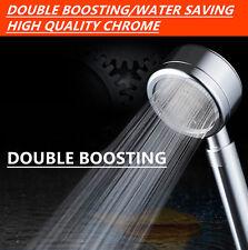 New Shower head In Chrome 5 Colour Super High Pressure Boosting Low Water Bath