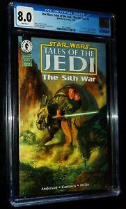 STAR WARS:TALES OF THE JEDI-THE SITH WAR #4 1995 Dark Horse Comics CGC 8.0 VF