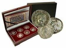 The Age of Chaos: Box of 6 Roman Coins from the Crisis of Third Century