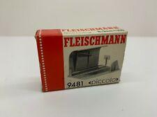 9481 Fleischmann Unloading Tipping Trailers Boxed