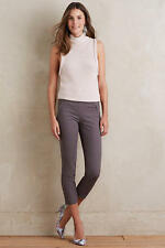 NEW Anthropologie Cartonnier Charlie Trouser Cropped Pants Size 4 Women's Gray