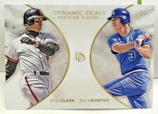 Dale Murphy / Will Clark 2018 Topps On Demand Dynamic Duals #PP6 - SP /700