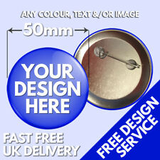 More details for 50mm custom badges • personalised printed badge • hen stag promotional button