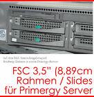 Hard Disc Frame Slides Hotswap HDD Rahmen FSC TX150 TX200 TX300 TX600 S30 #1