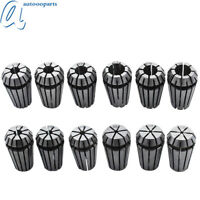 """12PC ER16 1/32""""-3/8"""" Spring Collet For CNC Milling Lathe Tool Engraving Machine"""