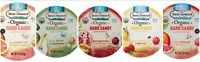 ALL 5 FLAVORS Torie and Howard USDA Organic Hard Candy Tins Pomegranate Pear