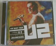 U2 LIVE IN JOHANNESBURG 1998 CD SEALED MADE IN BRAZIL 2013 WITH 22 TRACKS