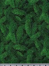 Fabric #1899, Green Pine Boughs RJR Jinny Beyer Sold by 1/2 Yard SEE DESCRIPTION