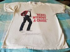 JAMES DEAN REBEL WITHOUT A CAUSE COOL VINTAGE TEE SMALL SOFT WELL WORN