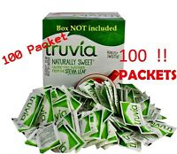 TRUVIA Calorie Free Naturally Sweetener From The Stevia Leaf 100 Packets