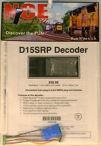 NEW HO NCE 105 D15SRP 6 Function 8 Pin Decoder