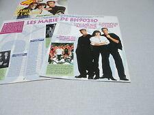 D024 BERVERLY HILLS 90210 SHANNEN DOHERTY LUKE PERRY  '1994 BELGIAN CLIPPING