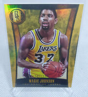 2013-14 Panini Gold Standard Magic Johnson SP Card #ed 182/199 LAKERS HOF