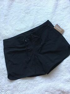 "Patagonia Womens Black Wavefarer Boardshorts 5"" (Size 10) L"