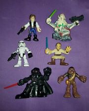 Star Wars Galactic Heroes Playskool Figures Mixed Lot #7A