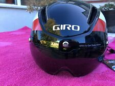 BNWT Giro Air Attack Shield Cycling AERO Helmet + visor Road/TT £135 RRP Cycle