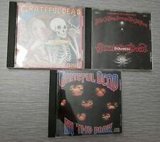 Grateful Dead CD Lot of 3 - In The Dark, Strange Trip, Skeletons From the Closet