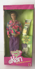 New NRFB 1991  Totally Hair Ken With Dep Styling Gel