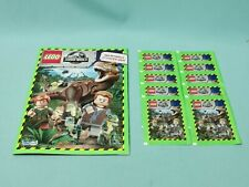 Blue Ocean Lego Jurassic World Sticker Sammelalbum + 10 Tüten