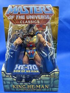 Masters of the Universe Classics MOTUC King He-Man New in Box