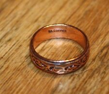 Native American Copper Vines Ring size 9.5