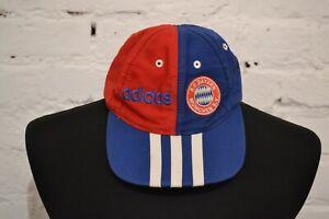 VINTAGE BAYERN MUNICH FAN FOOTBALL CAP 90S SOCCER ONE SIZE