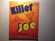 Killer Joe - Vol. 70 Play-a-Long Book and CD Set, neu & versiegelt