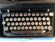 Vintage Royal Portable Typewriter with Glass Keys and Touch Control
