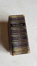 TRES RARE Livre ancien LES SIX CODES en miniature