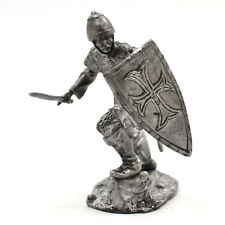 54mm miniature Byzantium Infantryman IX - XI century 1:32 Metal Castings