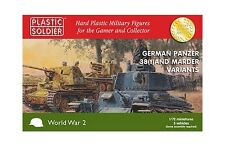Plastic Soldier Company BNIB 1/72nd German 38T and Marder variants WW2V20019