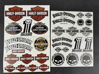 Harley Softail Dyna Sportster Motorrad Aufkleber v-rod touring stickers iron