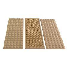 Placa de construcción de placa base LEGO 8 X 16 postes Gris-Genuino 92438
