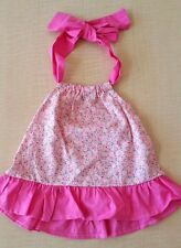 Pink Floral Baby Toddler Dress Size 12 Months