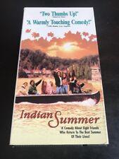 Indian Summer (VHS, 1993) Bill Paxton...Alan Arkin...Diane Lane...Rated PG-13...