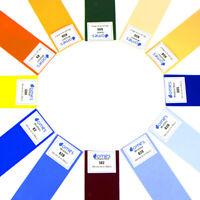 Color Gels Film Filter Paper Lighting Correction For Flash-Light Camera