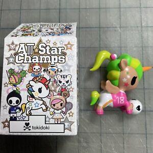Tokidoki All Star Champs Series: Kick Star Soccer Football Unicorno w/Box & Foil