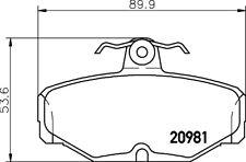 Mintex Rear Brake Pad Set MDB1287  - BRAND NEW - GENUINE - 5 YEAR WARRANTY