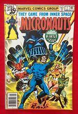 Micronauts #1 '79 UNREAD From Original Case NM++ 9.6 9.8+  STUNNING Case Fresh!