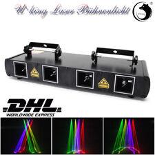 4-Loch U`king Laser Bühnenlicht 7CH DMX DJ Bar Club Party Show Disco Wedding