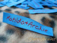 1200pcs Custom-made Garment fabric Hem /Neck Labels/ Clothing/ Sewing/ Stitching