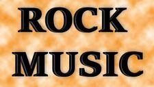 700 Rock Music mp3 Songs on a 16gb usb flash drive