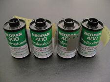 4 rolls FUJI Neopan 400 professional b&W EXPIRED 1980-90