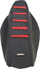 Moose Racing Ribbed Seat Cover Red for Honda CRF250R 14 450R 13-14