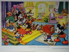 Walt Disney MICKEY MOUSE TAKES A PHOTOGRAPH Original Print 1935