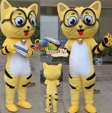 Adult Cosplay Cat Mascot Costume Fancy Dress EPE Parade Outfit Party Suit Animal